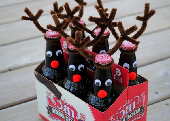 Как красиво упаковать пиво в подарок?