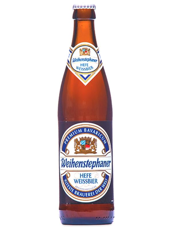 Вайнштефан Хефе Вайсбир / Weihenstephan Hefe Weissbier 0,5л. алк.5,4%