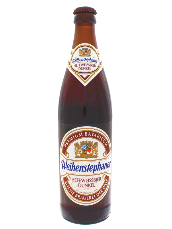 Вайнштефан Хефе Вайсбир Дункель /  Hefeweissbir Dunkel 0,5л. алк.5,3%