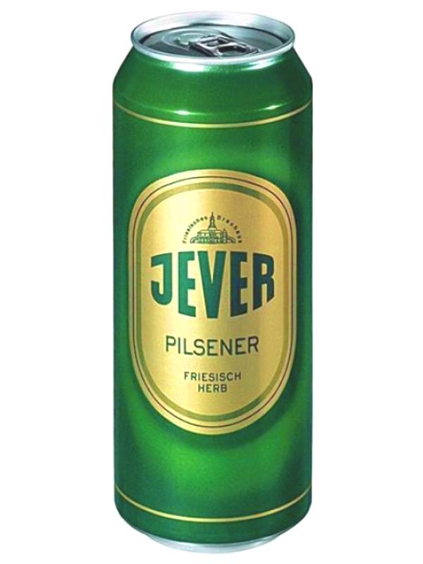 ЕВЕР ПИЛСЕНЕР / Jever Pilsener 0,5л. алк.4,9% ж/б.