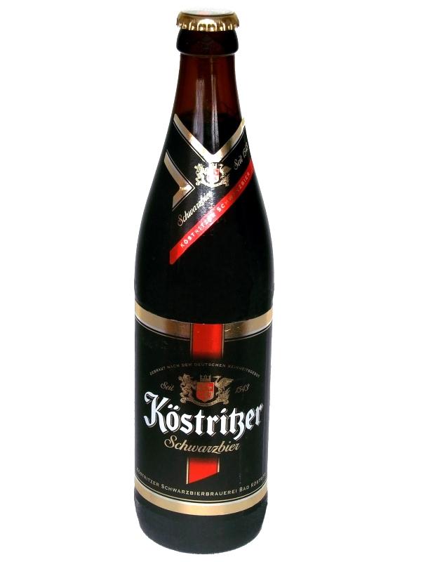 Кестритцер Шварцбир / Kostritzer Scwarzbier 0,5л. алк.4,8%