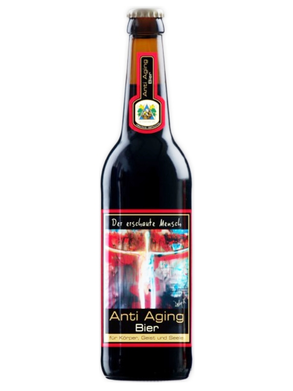 Клостерброй Омолаживающее пиво  / Kloster-Brau Anti Aging Bier 0,5л. алк.4,8%