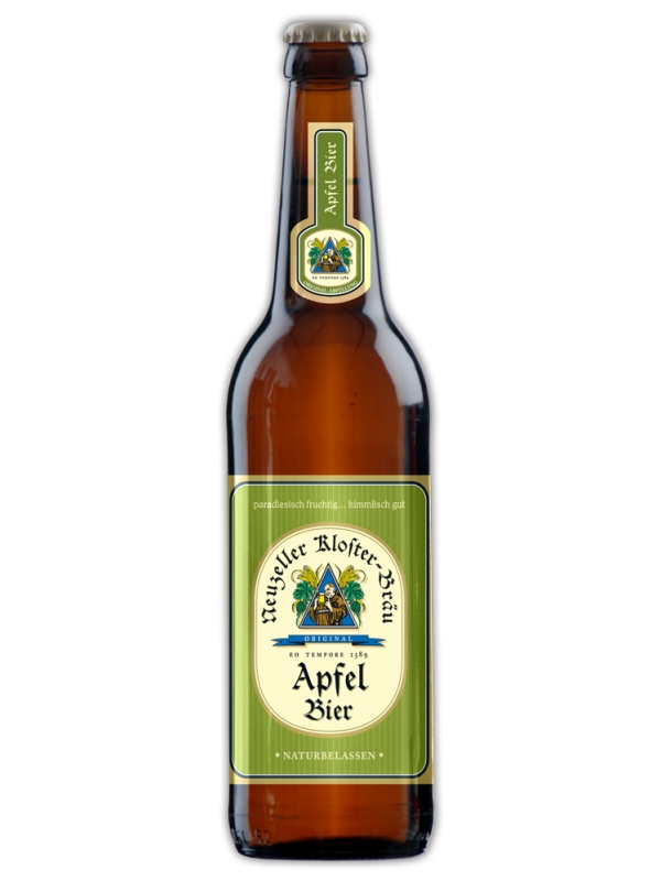 Клостерброй Яблочное / Kloster-Brau Appel Bier 0,5л. алк.4,8%