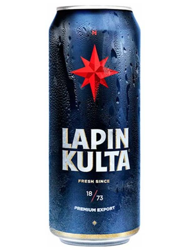 Лапин Культа / Lapin Kulta 0,5л. алк.5,2% ж/б.
