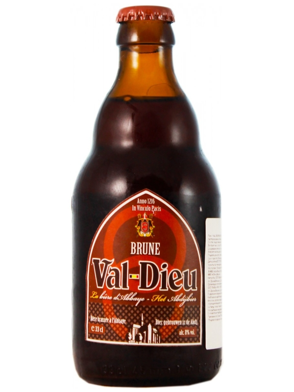 Валь-Дье Брюн / Val-Dieu Brune 0,33л. алк.8%