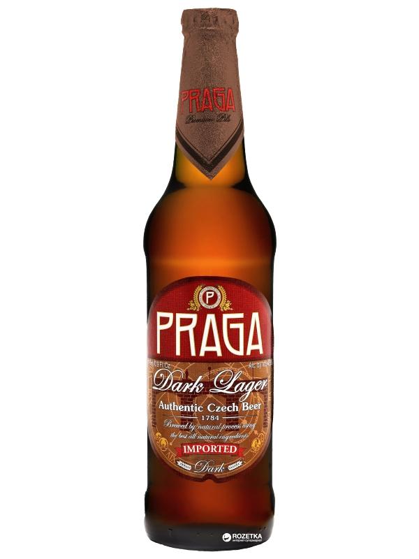 Прага Дарк Лагер / Praga Dark Lager 0,5л. алк.4,5%