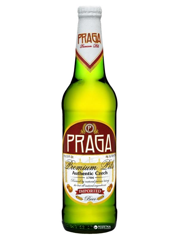 Прага Премиум Пилс / Praga Premium Pils 0,5л. алк.4,7%