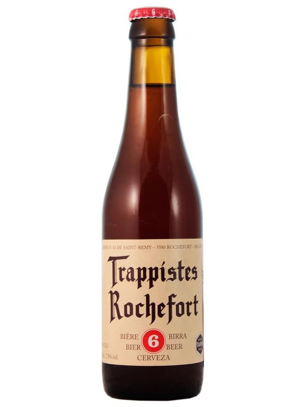 Траппист Рошфор 6 / Trappistes Rochefort 6   0,33л. алк.7,5%