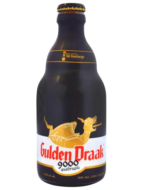Гульден Драк 9000 Квадрупель / Gulden Draak 9000 Quadrupl 0,33л. алк.10,5%