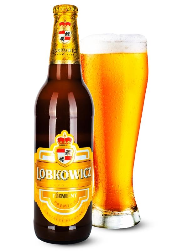 Лобковиц Премиум Пшеничный / Lobkowicz Premium Psenicny 0,5л. алк.4,5%