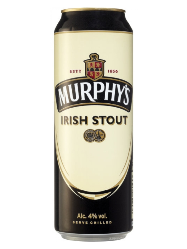 Мёрфис Айриш Стаут / Murphis Irish Stout 0,5л. алк.4%