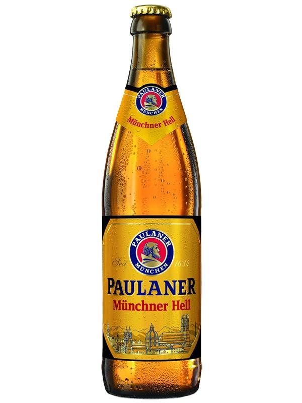 Пауланер Мюнхенский Хель / Paulaner Munchner Hell 0,5л. алк.4,9%