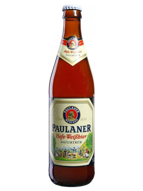 Пауланер Хефе-Вайсбир Натуртрюб /Paulaner Hefe-Weissbie Naturtrub 0,5л. алк.5,5%