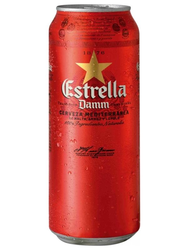Эстрелла Дамм / Estrella Damm 0,5л. алк.4,6%