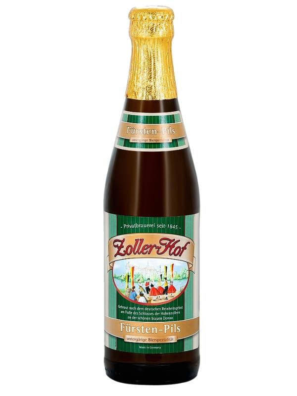 Цоллер-Хоф Княжеский-Пильс / Zoller - Hof Fursten Pils 0,5л. алк.4,9%