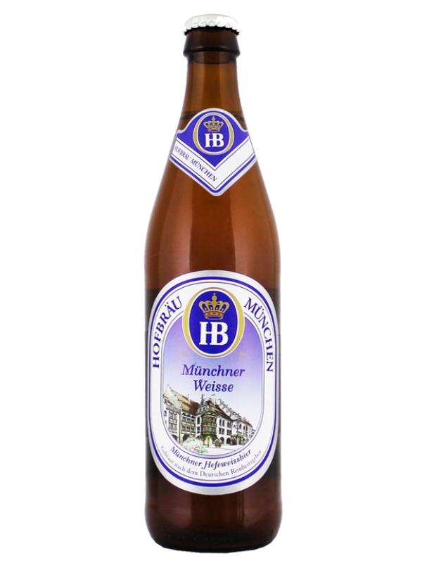 ХОФБРОЙ Мюнхнер Вайс / Hofbrau Munchner Weisse 0,5л. алк.5,1%