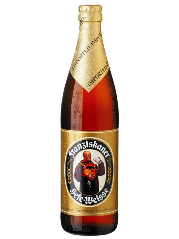 Францисканер Хефе-Вайсбир /Franziskaner Hefe-Weissbir 0,5л. алк.5%