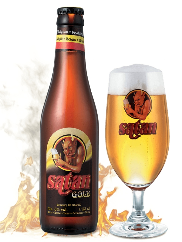 Сатан Голд / Satan Gold 0,33л. алк.8%