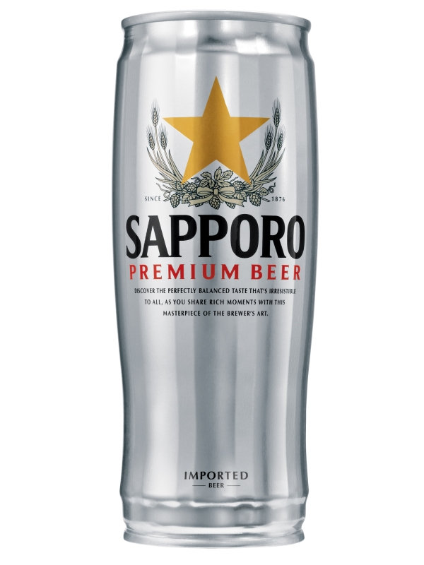 Саппоро / Sapporo 0,65л. алк.5%,