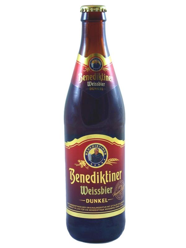 Бенедиктинер Вайсбир Дункель / Benediktiner Weissbier Dunkel 0,5л. алк.5,4%