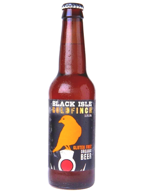 Блэк Исл Органик Голдфинч ИПА / Black Isle GOLDFINCH IPA  0,33л. алк.3,5%
