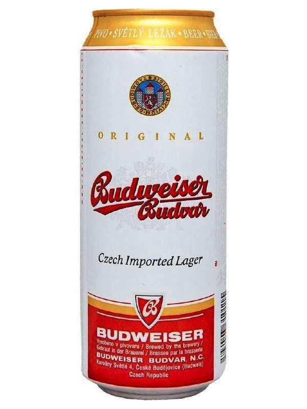 Будвайзер Будвар / Budweiser 0,5л. алк.5%