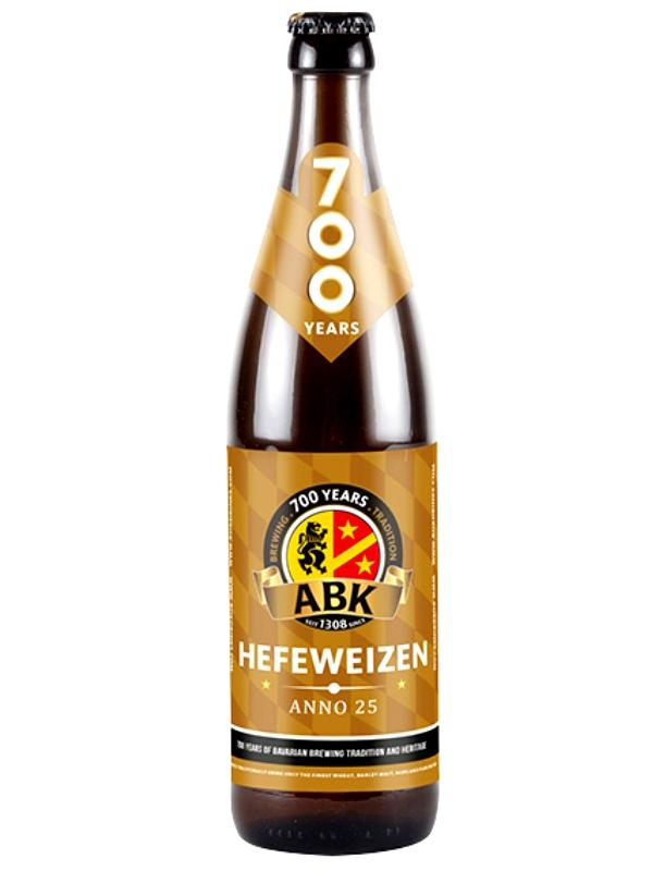 АБК ХЕФЕВАЙЦЕН / ABK Hefeweizen Anno 25 0,5л. алк.5,3%