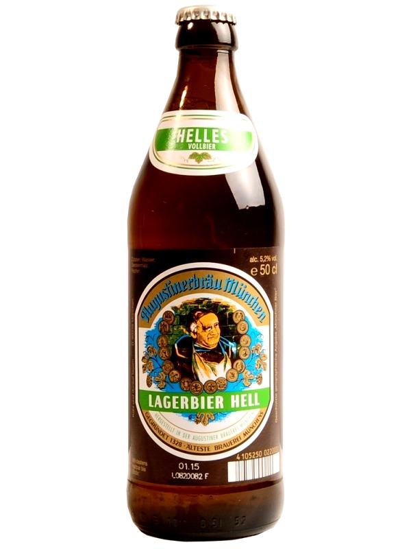 Августинер Лагербир Хелл / Augustiner Lagerbier Hell 0,5л. алк.5,2%