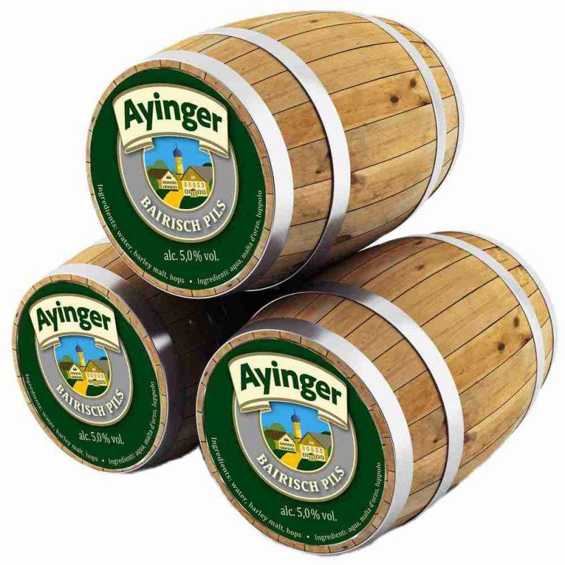 Айингер Байриш Пилз / Ayinger Bairisch Pils, keg. алк.5,3%
