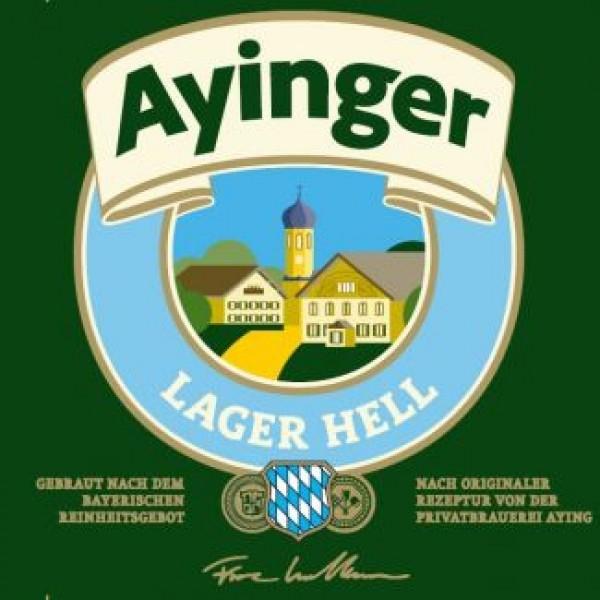 Айингер Лагер Хелль / Ayinger Lager Hell, keg. алк. 4,9%