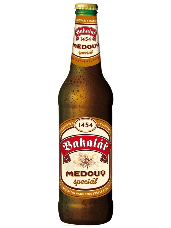 Бакалар медовый специальный / Bakalar Medovy Special 0,5л. алк.5,8%