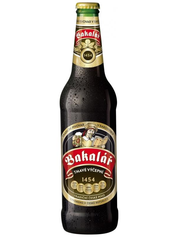 Бакалар темное / Bakalar Tmave Vycepni 0,5л. алк.3,8%