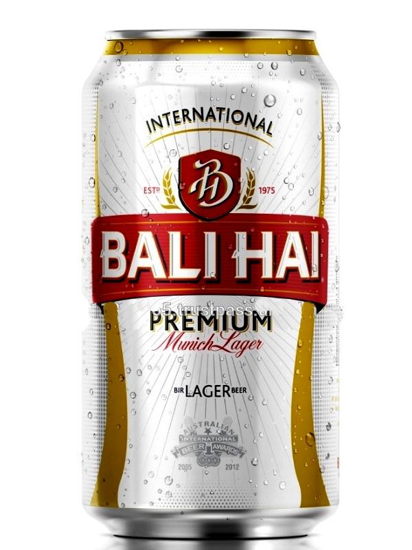 Бали Хай Премиум Мунич Лейджер / Bali Hai Premium Munich Lager 0,33л. алк.4,9% ж/б.