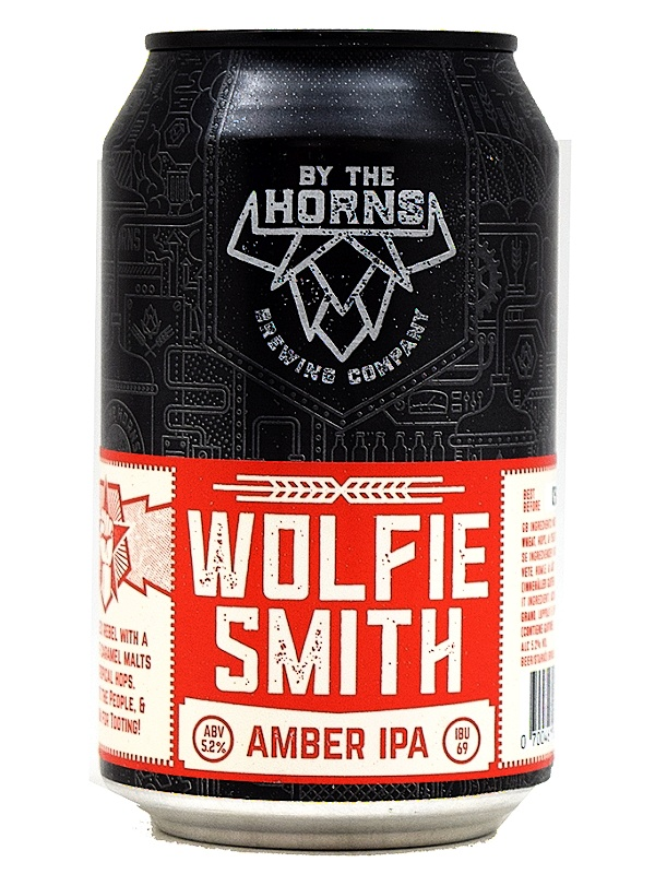 Бай Зе Хорнс Вольфи Смит ИПА  / By The Horns Wolfie Smith IPA  0,33л. алк.5,2%