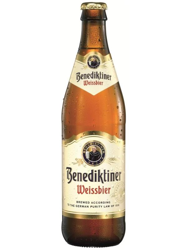 Бенедиктинер Вайсбир / Benediktiner Weissebier  0,5л. алк.5.4%