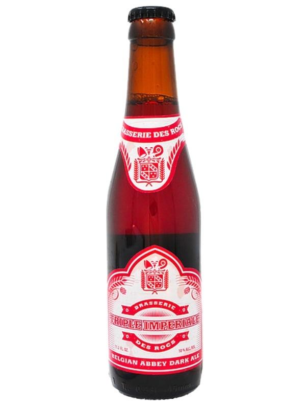 Брассери Де Рокс Трипл Империал / BrasserieDes Rocs Triple Imperiale 0,33л. алк.10%