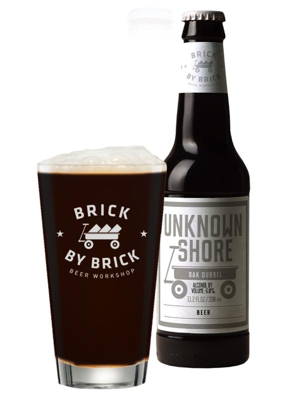 Брик Бай Брик Неизведанный берег / Brick by Brick Unknown Shore 0,33л. алк. 6%