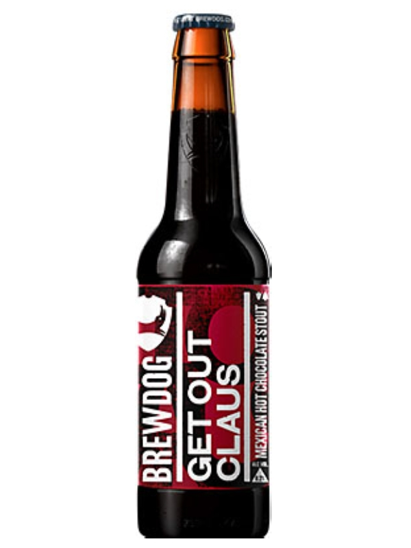Брюдог Гет Аут Клаус / BrewDog Get Out Claus 0,33л. алк.8,2%