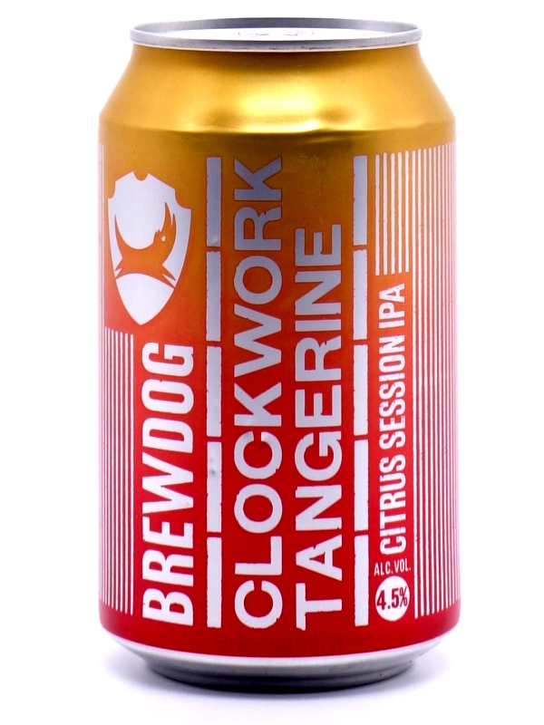 Брюдог Клокворк Тангерин / BrewDog Clockwork Tangerine 0,33л. алк.4,5% ж/б.