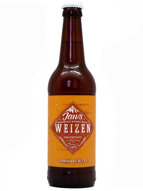 Джоус Вайцен / Jaws Weizen 0,5л. алк.4,6%