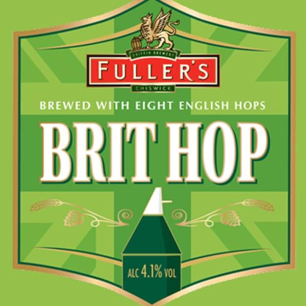 ФУЛЛЕРС БРИТ ХОП / Fuller`s Brit Hop, keg. алк.4,8%