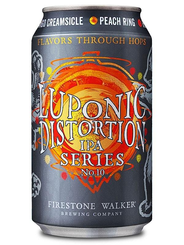 Файерстоун Уокер Люпоник Дисторшн 10 / Firestone Walker Luponic Distortion 10 0,355л. алк.5,9% ж/б.