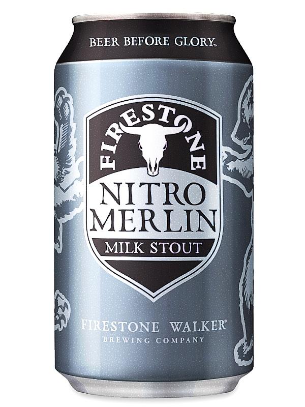 Файерстоун Уолкер Нитро Мерлин Милк Стаут/Firestone Walker Nitro Merlin 0,355л. алк.5,5% ж/б.