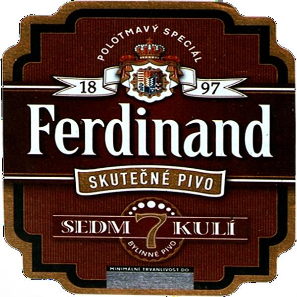 Фердинад Специальное / Ferdinand Special, keg. алк.5,5%