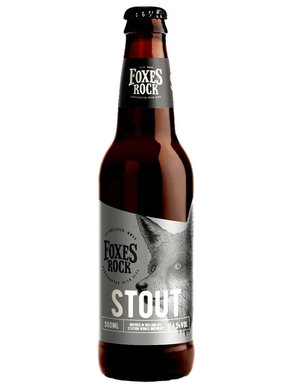 Фоксес Рок Стаут / Foxes Rock Stout 0,5л. алк.4,5%