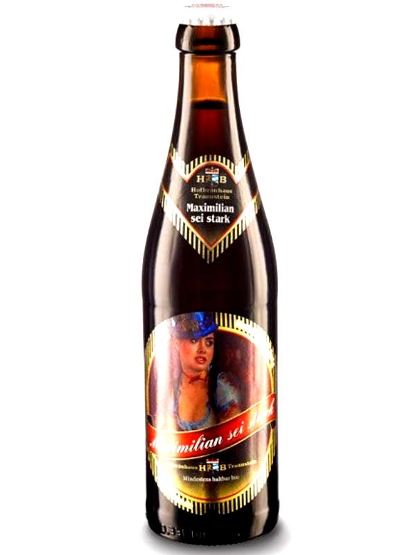 Хофбройхаус Траунштайн Максимилиан /  Hofbruhaus Traunstein Maximilian 0,33л. алк.7,8%