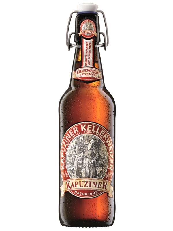 Капуцинер Келлервайцен / Kapuziner Kellerweizen (0,5л. бут.)