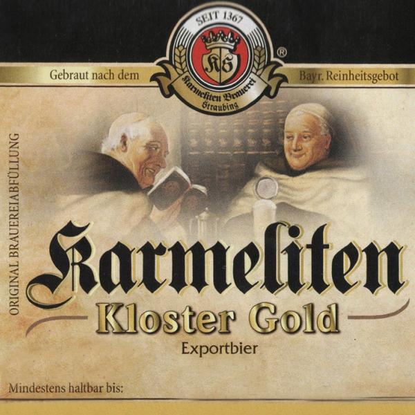 Кармелитен Клостер Голд / Karmeliten Kloster Gold, keg. алк.5,1%