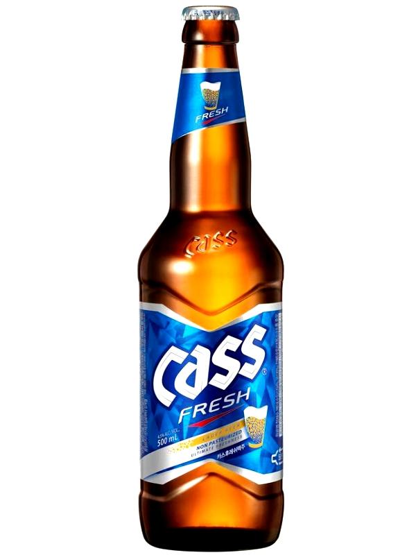 Касс Фреш / CASS FRESH BEER 0,64л. алк.4,5%