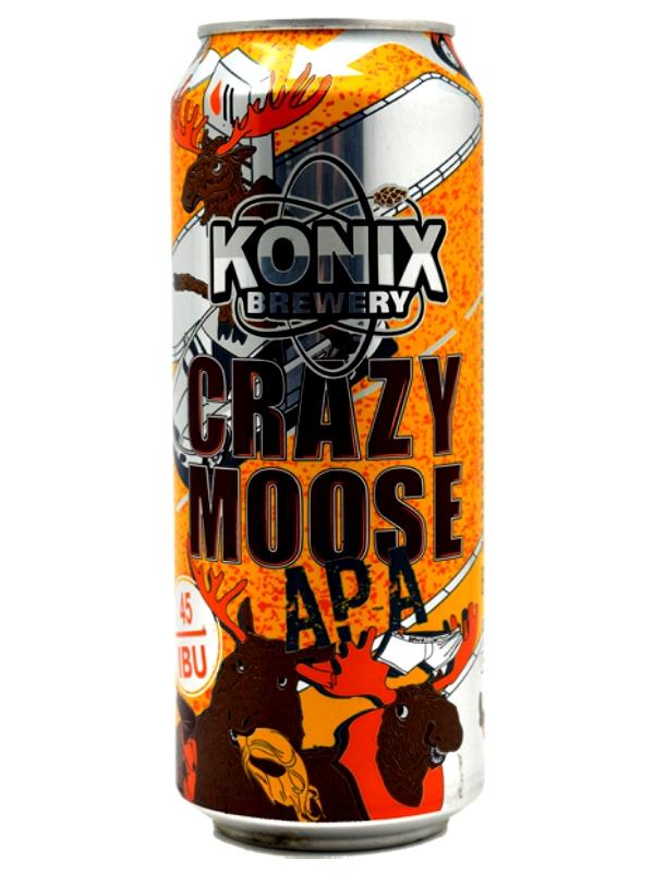Коникс АРА Сумасшедший лось / Konix APA Crazy Moose 0,5л. алк.5,5%  ж/б.